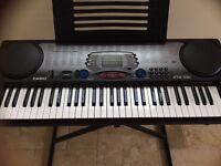 Casio keyboard + stand