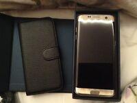 Samsung Galaxy S7 edge gold platinum