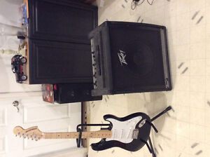 Fender Starcaster and Peavey Amp For Sale!