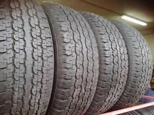 215/60R16 Bridgestone Ecopia EP422 Set of 4 Used allseason tires 85%tread left Free Installation and Balance