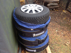 4 Winter Nordia Tire Package