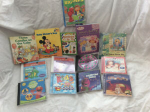 Children's Books and CDs-pick up in Thornhill