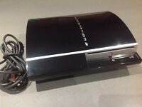PS3 with 9 games , controllers and charger