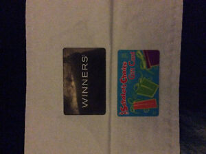 2 Gift cards