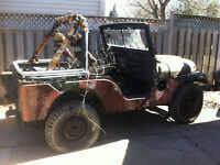 1952-53 M38A1 MILITARY JEEP