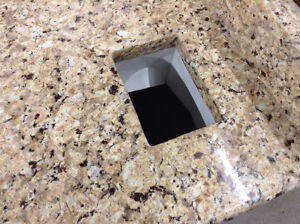 Granite Top Vanity with Touchless Faucet Ottawa Ottawa / Gatineau Area image 3