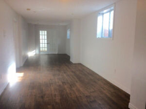 2- Bedroom Spacious and Bright Basement Apartment for Rent