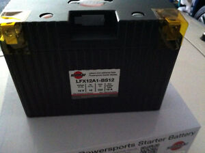 LITHIUM SHORAI BATTERY FOR MOTORCYCLES AND ATVS LFX12A1-BS12