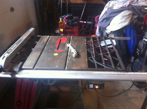 Craftsman Table Saw ~ Commercial Grade / Cast Iron Top