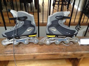 Nike men's roller blades size 12 North Shore Greater Vancouver Area image 1