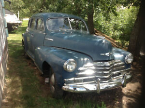 1947 CHEVROLET FLEETMASTER 4 dr