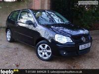 VOLKSWAGEN POLO MATCH 2009 Petrol Manual in Black