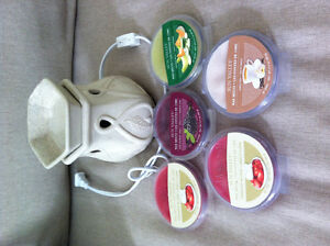 Never opened 5x Scented Wax Packages and EUC Warmer