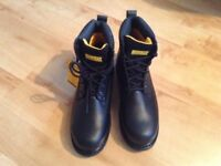 Brand new steel cap safety boots