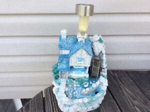 Water wheel house .. Garden, lawn, outside, decorative piece