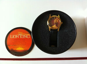 New Disney Lion King 10th Anniversary Watch Avon Special Edition