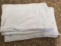 2x large baby muslin cloths