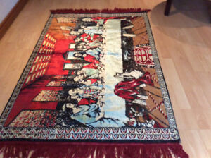 NEW CARPET - LAST SUPPER - DECOR