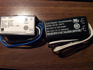 NEW MIC ELECTRONIC TRANSFORMERS FOR 12V HALOGEN LIGHTS