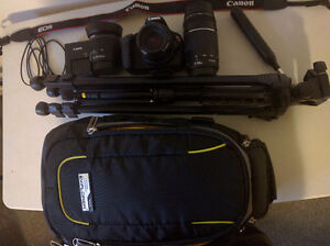 Canon Rebel EOS T5 Camera and Accessories...Needs Sold!
