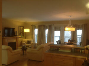 Executive Condo Fully Furnished- Steady Brook -Overlooking River