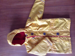 Boys Carters Firefighter insulated jacket -5T