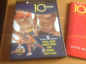 BEACHBODY 10 MINUTE TRAINER DVD SET- 5 FAST WORKOUTS