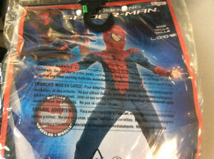 Spider-Man costume for ages 10 to 12