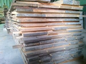 Hardwood lumber boards