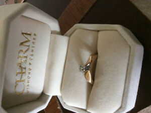 10k gold engagement ring size 7 $100