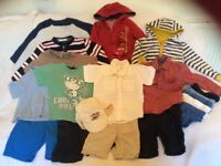 Lovely bundle boys summer clothes 2–3 Years Disney Cars Next F&F etcVGC 20 items