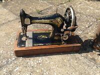 Singer k271 1908 hand operated vintage sewing machine