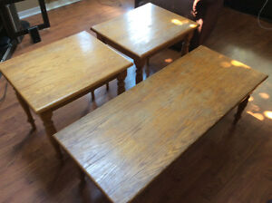 Coffee Table and End Tables !