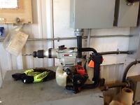 Powertek gas powered hammer drill