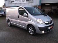 2013 63 VAUXHALL VIVARO 2.0 CDTI SPORTIVE SWB 115BHP IN SILVER WITH 48000 MILES