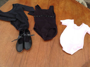 Body suits and tap shoes