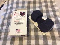 Acusta grip violin/viola shoulder rest