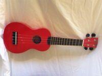 Red mahalo ukulele