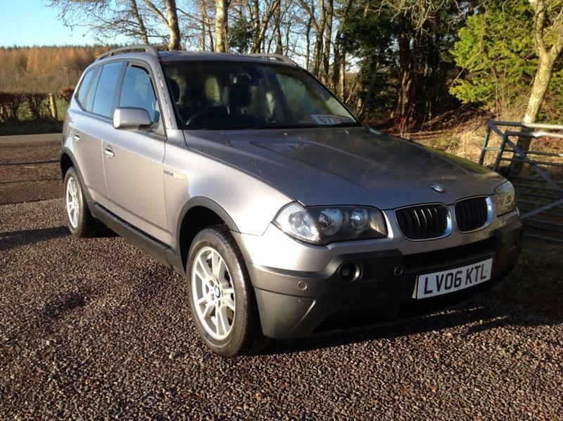 bmw x3 2 0 diesel se 4x4 2006 genuine 90k miles from. Black Bedroom Furniture Sets. Home Design Ideas