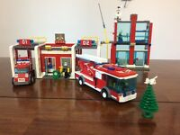 Lego City Fire Station 7208