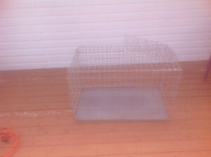 large collapsible pet cage