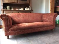 John Sankey for John Lewis hand built high quality craftsmanship sofa settee