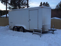 2012 CARGO TRAILER FULLY OUTFITTED FOR CONSTRUCTION SITE