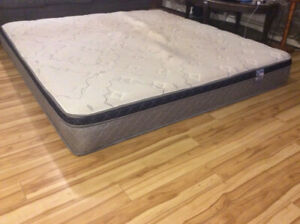 King bed mattress $80 only. Pickup only. No delivery
