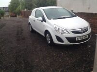 VAUXHALL CORSA VAN 62PLATE IMMACULATE CONDITION NO VAT