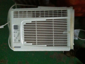 Two Portable Window Insert Air Conditioners