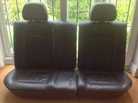 VW Polo 6N rear leather seats