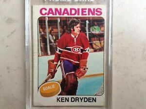 Ken Dryden 1974-75 Hockey Card