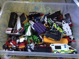Cars ..pre played cars box full £40