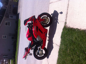 Looking to trade My Honda CBR1000 RR For a Touring BIke
